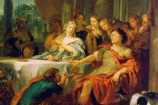 Antony and Cleopatra, from a 17th or early 18th century painting