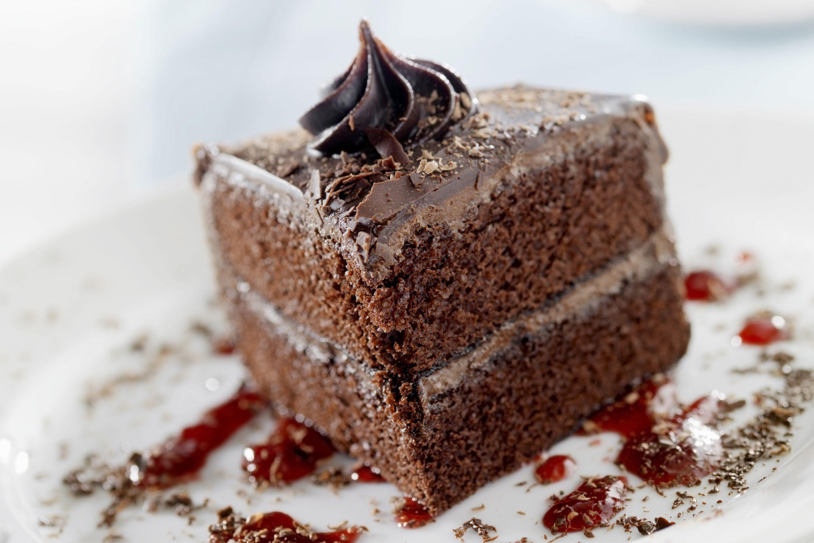 Swiss Chocolate Cake And Cream Cheese Frosting Recipe