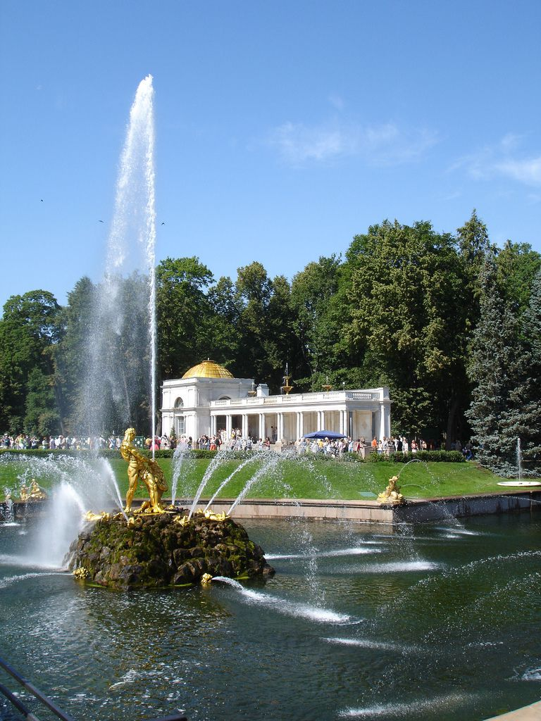 Peterhof in Summer