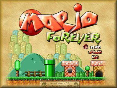 Super Mario Forever - Free PC Game