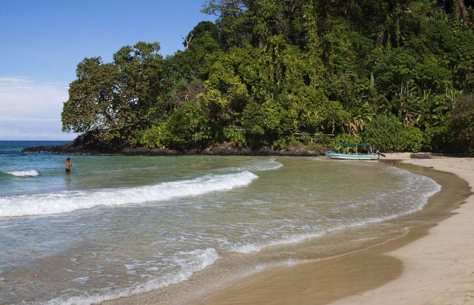 Isla Bastimentos in Bocas del Toro, Panama