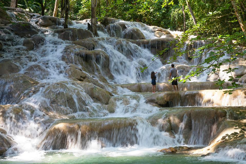 Jamaica, St. Ann Pa, Ocho Rios, Dunns River Falls.