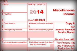 1099-MISC tax form