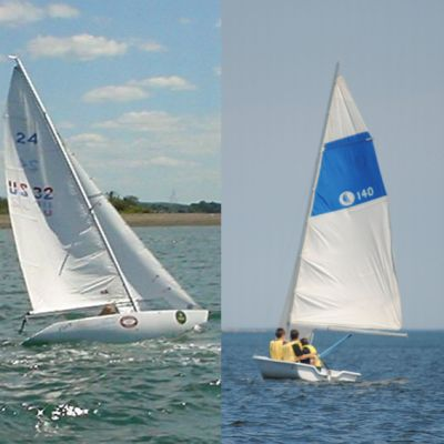 Centerboard and Keel Sailboats