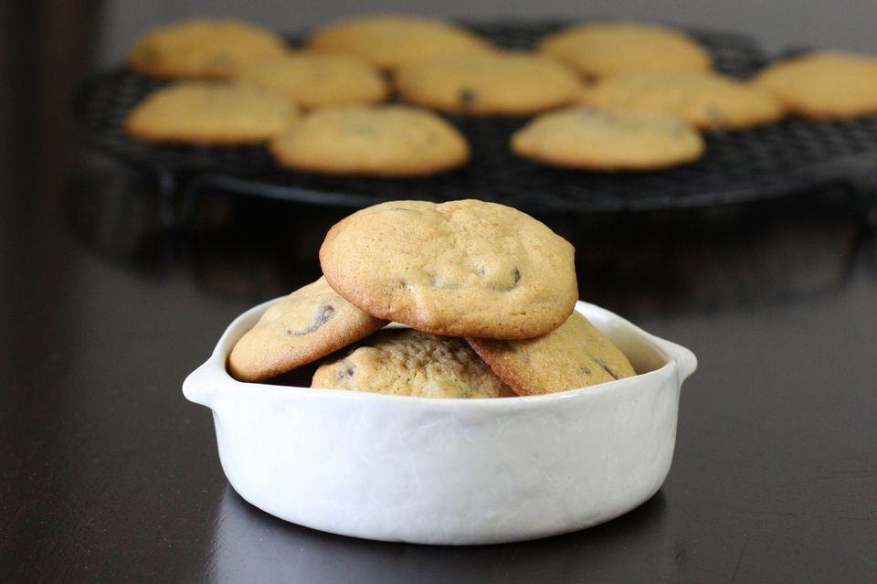 soft , cake-like chocolate chip cookies