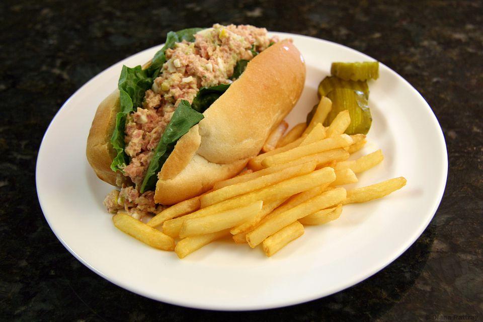 Ham Salad Sandwich Rolls