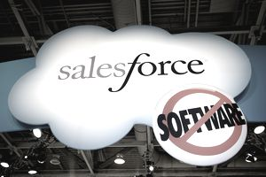 Salesforce signage