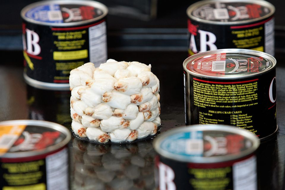 Crabmeat in Cans