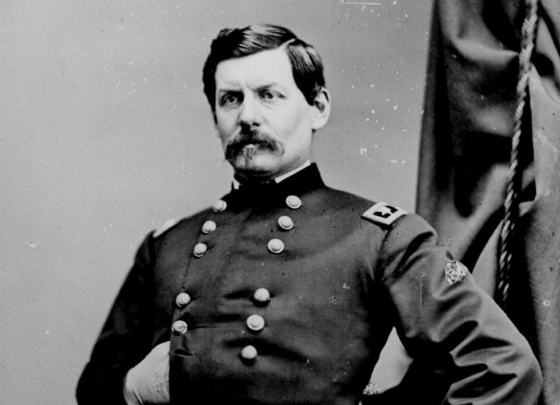 Major General George McClellan in the Civil War