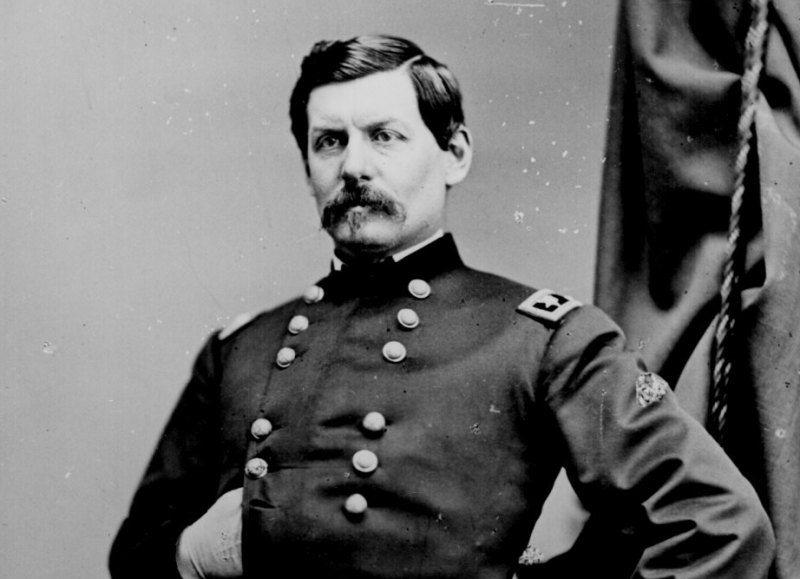 Major General George McClellan in the Civil War