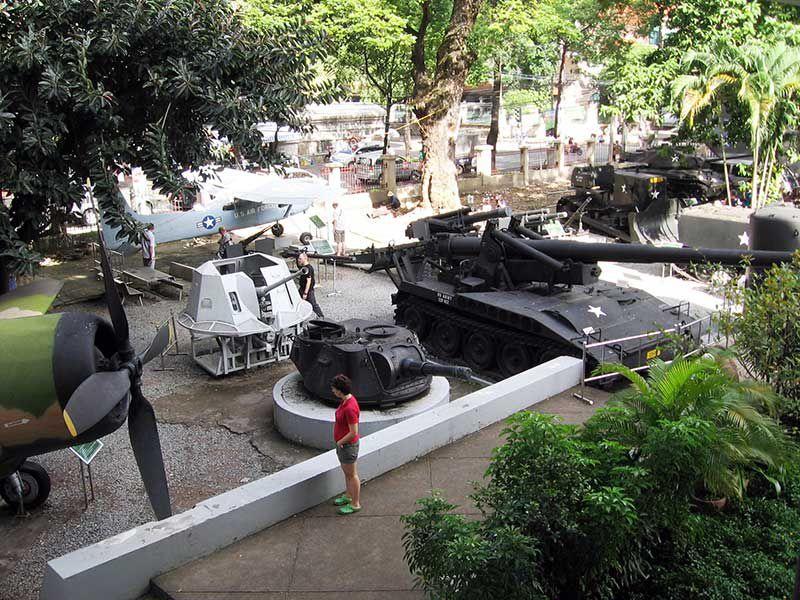 Grounds of War Remnants Museum, Vietnam