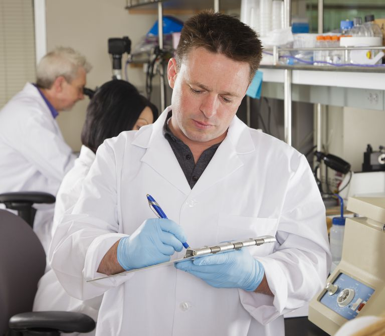 Worker in a Laboratory