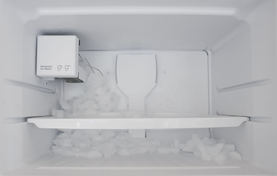Freezer ice maker