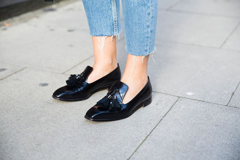 Jeans and shoes street style