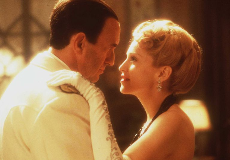 Madonna And Jonathan Pryce In The Movie Evita January 17 1997
