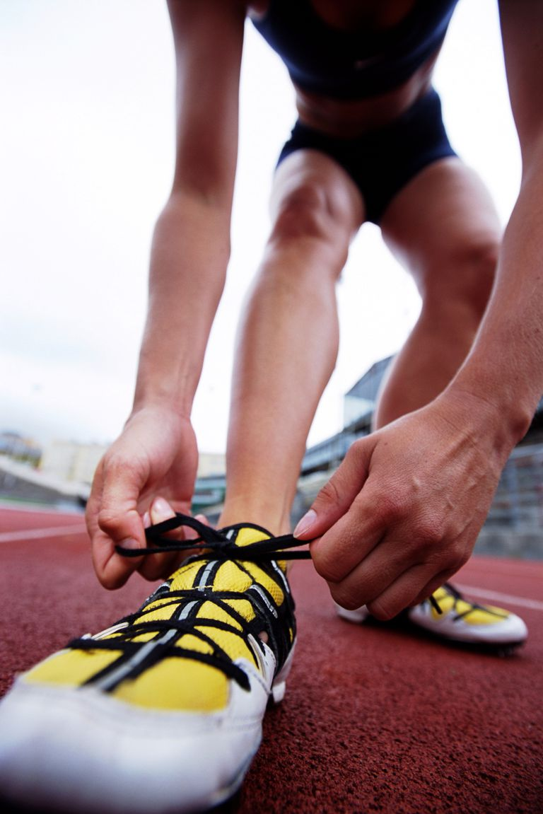Running shoes and pronation
