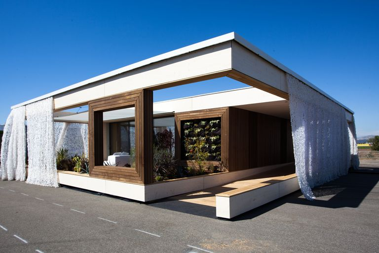 LISI (Living Inspired by Sustainable Innovation) by Vienna University of Technology in Austria, First Place winner at the 2013 Solar Decathlon