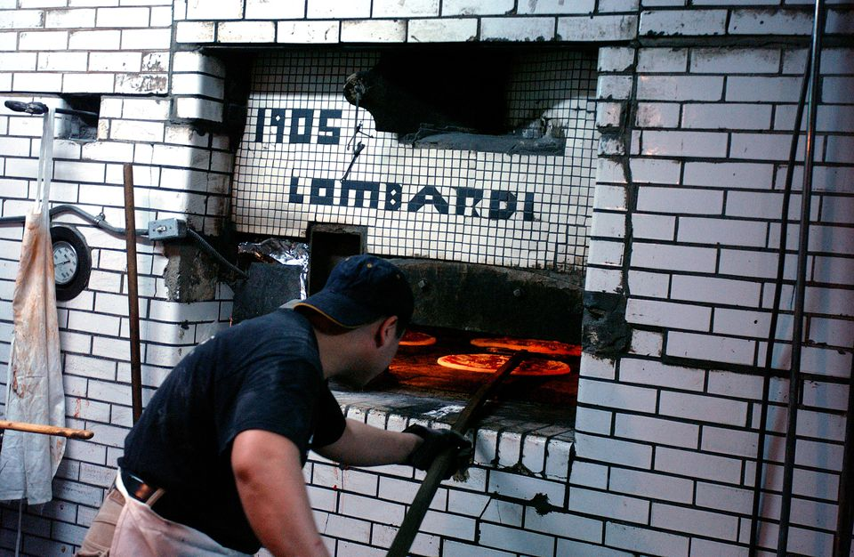 Lombardi's Pizza, Little Italy, New York City, New York, United States of America, North America