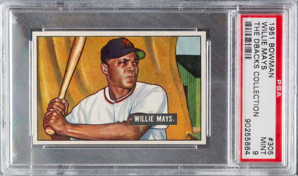 The 1951 Bowman Willie Mays Card