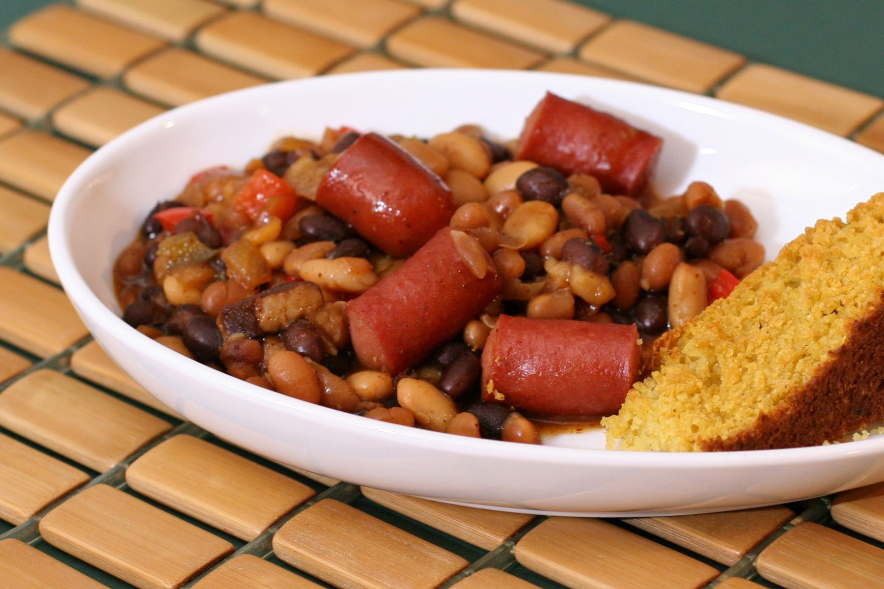 Crock Pot Hot Dogs And Beans