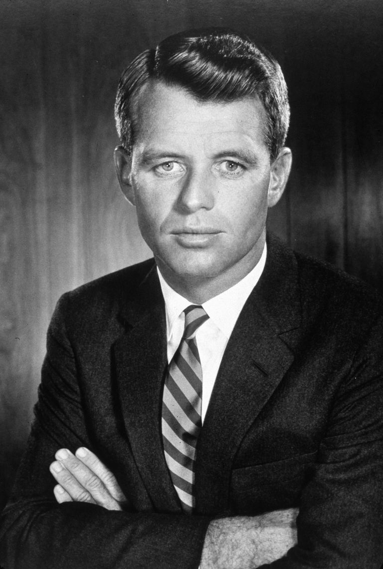 Picture of Robert Kennedy.