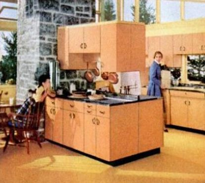 1950S Kitchen Cabinets Prepossessing Kitchen Trends Introduced In The 1950S Inspiration Design