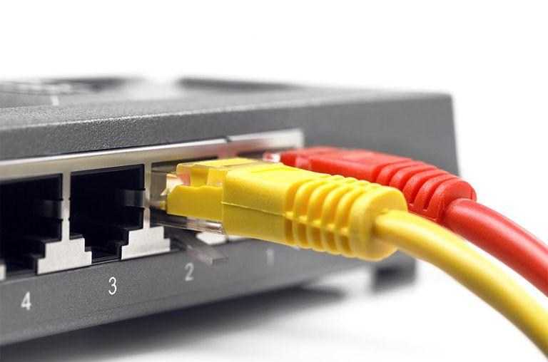 Multicolored cables