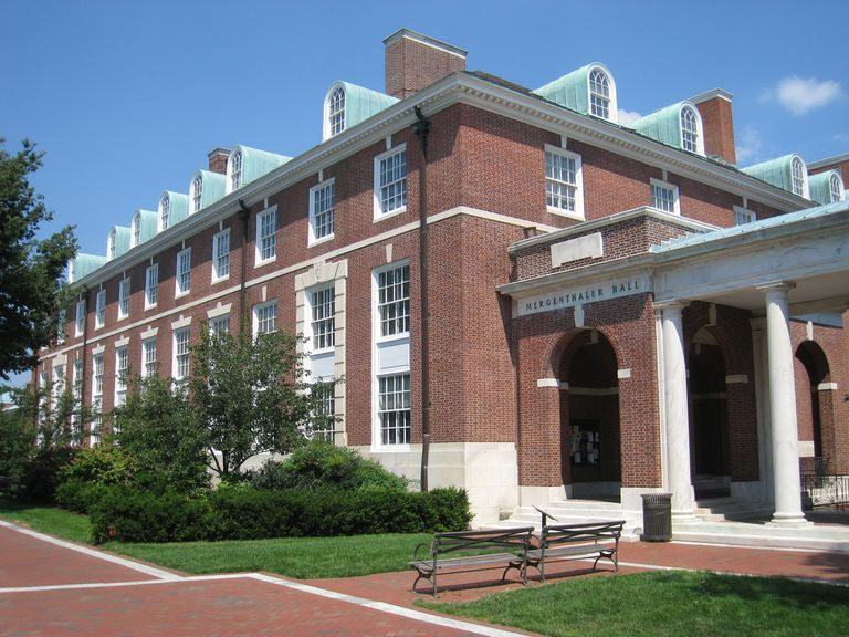 Mergenthaler Hall at Johns Hopkins University