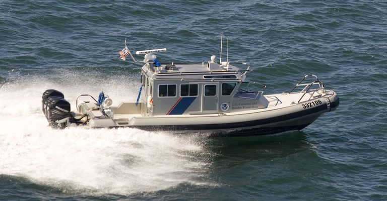 U.S. CBP Marine Interdiction Agents