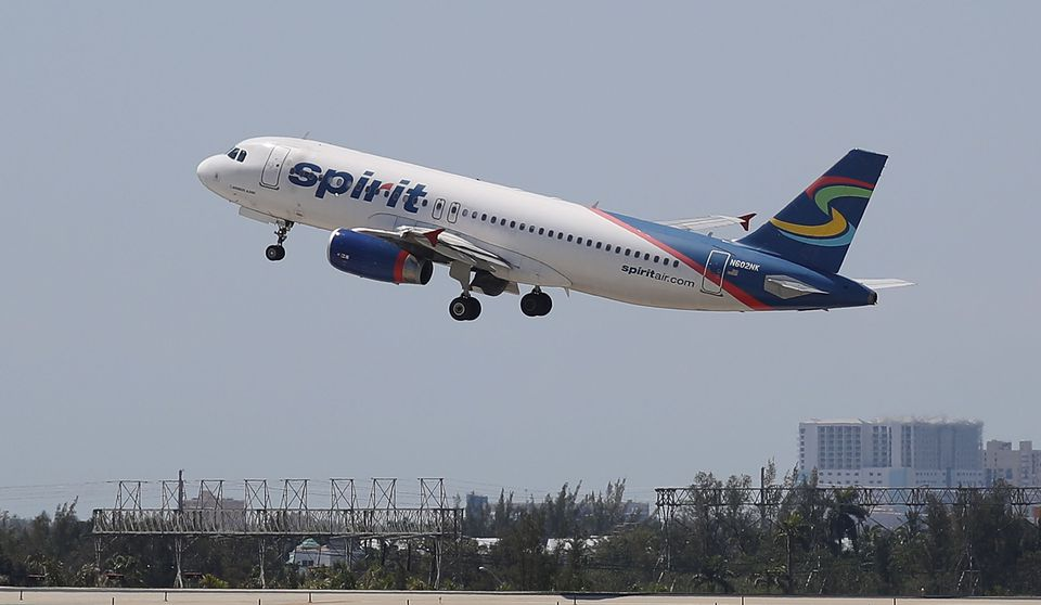 Spirit Airlines Cancels Hundreds Of Flights Amidst Company Turmoil