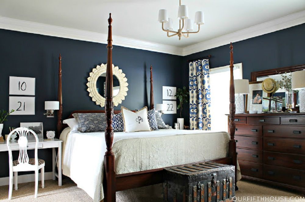 dark blue bedroom walls. Dark Blue Bedroom Walls