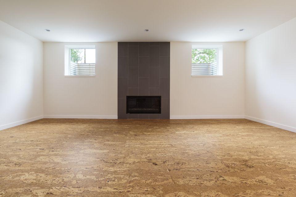 bedroom flooring.  Cork Bedroom Flooring