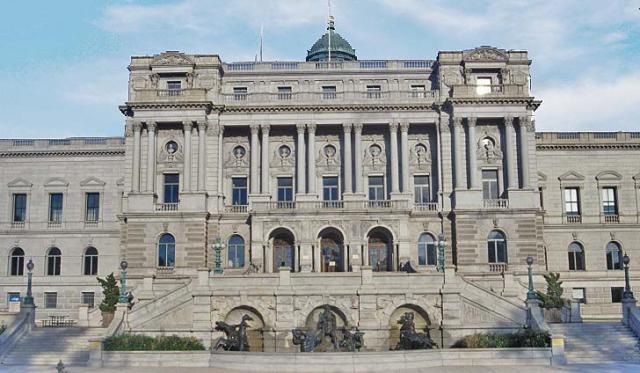 The Library of Congress in Washington DC