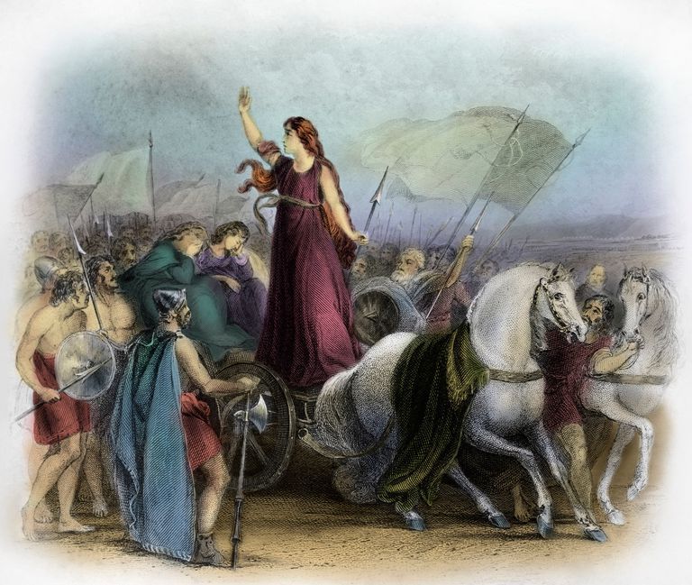 Boadicea Haranguing the Britons