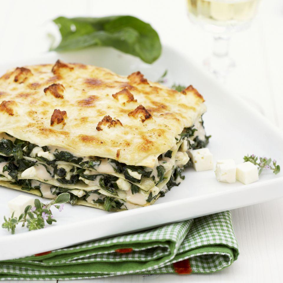 vegan dairy free lasagna primavera recipe