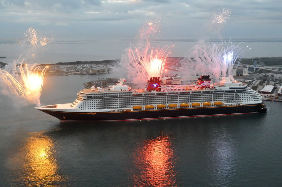 New Disney Cruise Line Ship Arrives in USA from Germany