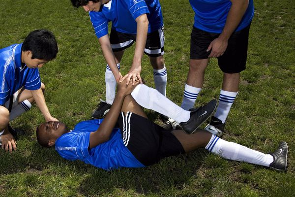 Common soccer injuries