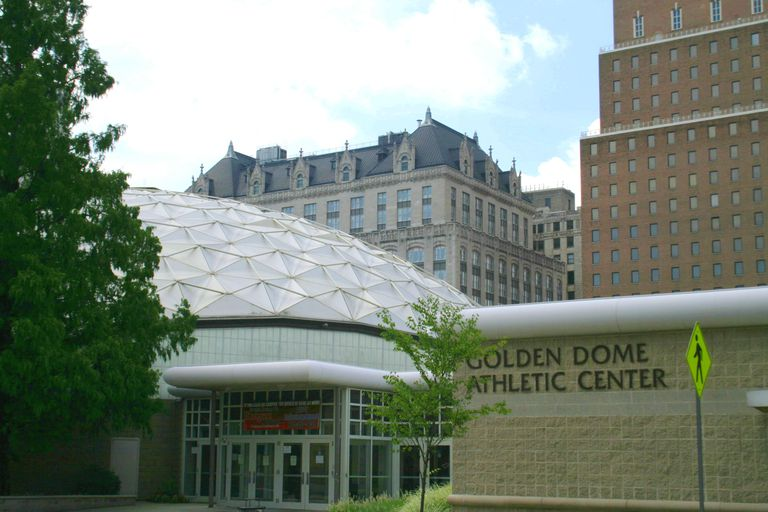 The Golden Dome Athletic Center at Rutgers Newark