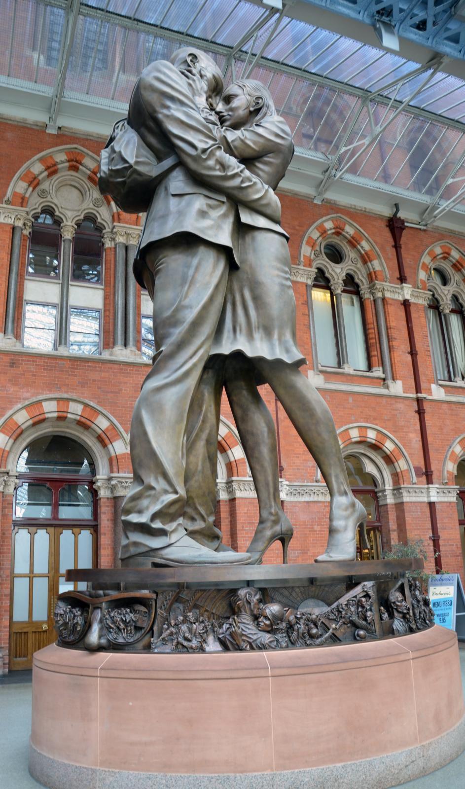St Pancras Station, London 17 Jun 12