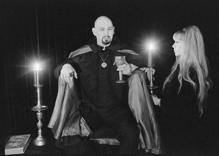 A Satanic Ceremony