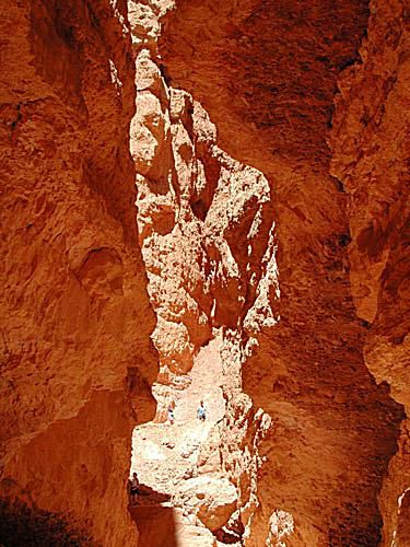 Hiking in Bryce National Park