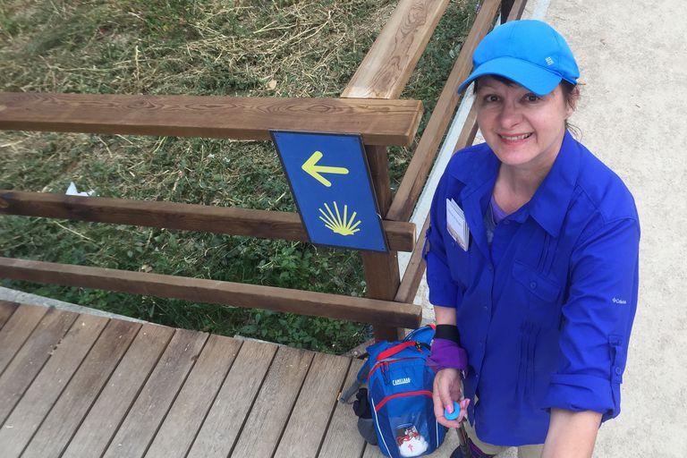 Wendy Starts the Camino de Santiago in Sarria