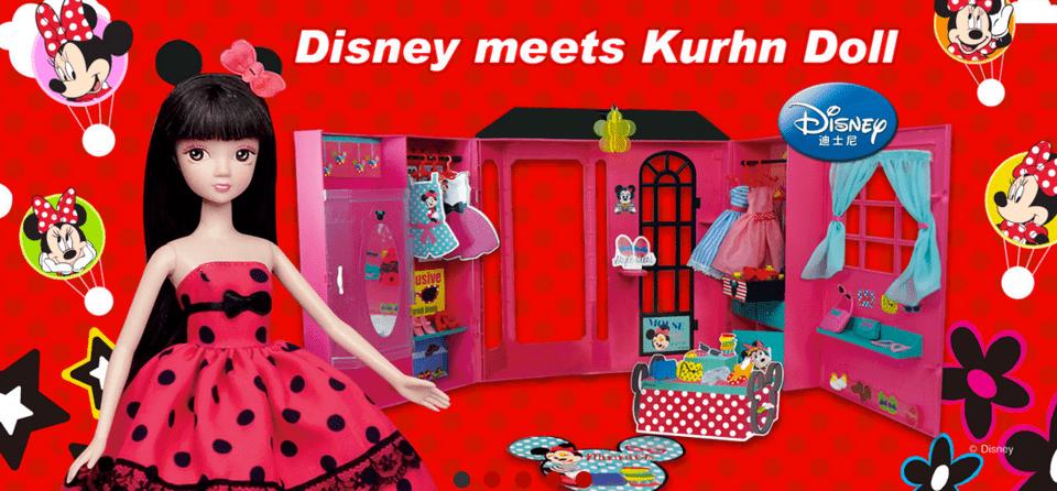 Disney Meets Kurhn, China's Fashion Doll