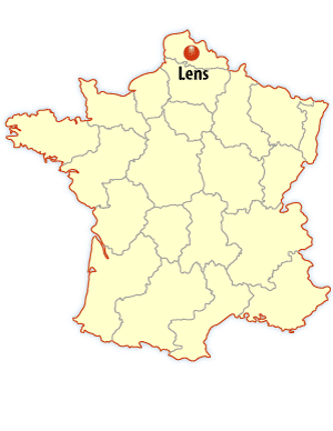 lens map, lens location map