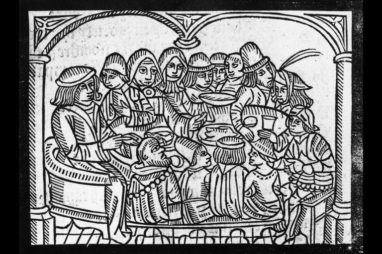 Canterbury Prologue: Pilgrims at the Tabard Inn