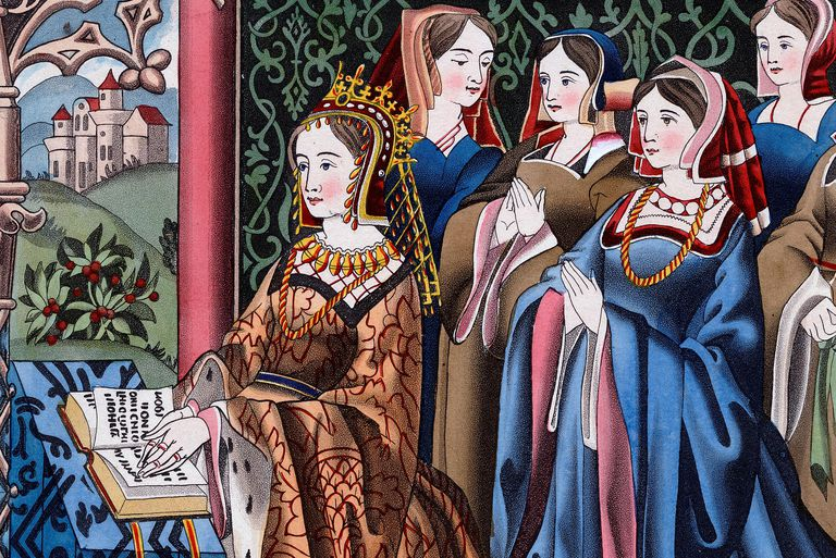 Margaret of Anjou and Her Court