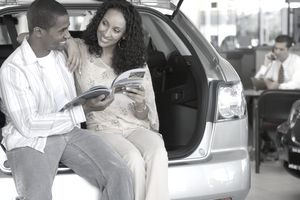 Couple Financing a Car