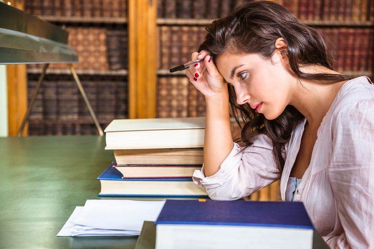 Preparing for exams can help reduce test anxiety.