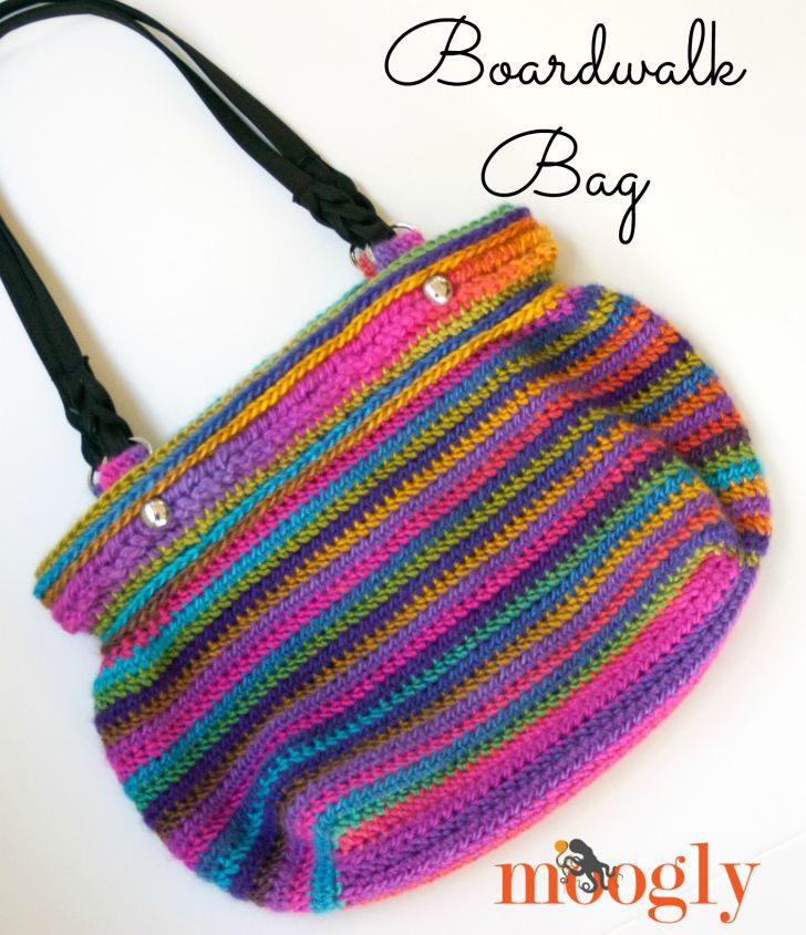 Boardwalk Bag Free Crochet Pattern