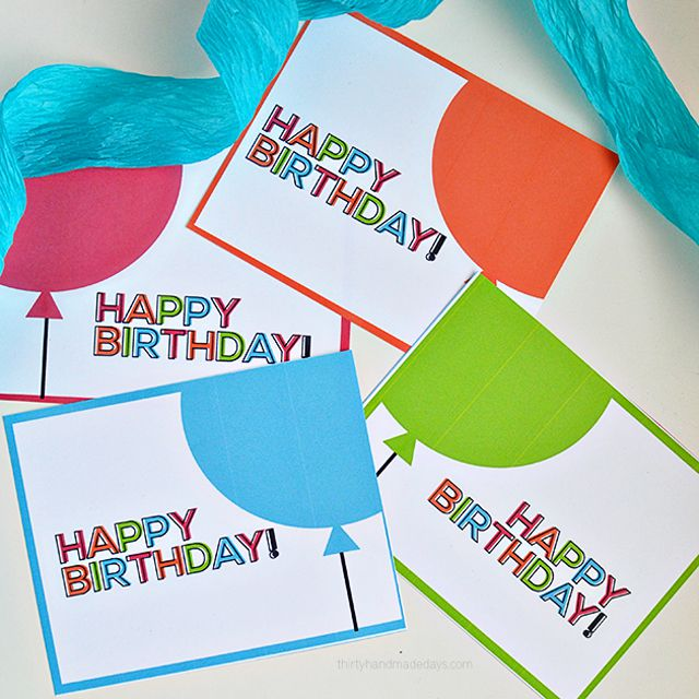 15 Free Printable Birthday Cards for Everyone – Happy Birthday Cards Printable